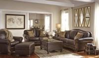 Mellwood Walnut Living Room Set, 6460538, Ashley