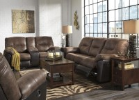 Follett Coffee Reclining Living Room Set from Ashley ...