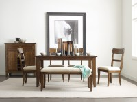 """The Nook Maple 60"""" Dining Room Set from Kincaid Furniture ..."""