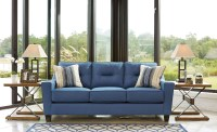 Forsan Nuvella Blue Sofa from Ashley