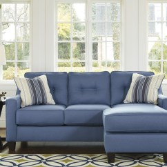 Fufsack Sofa Sleeper Lounge Chair Charcoal Grey What Color Walls Aldie Nuvella Blue Queen Chaise From Ashley