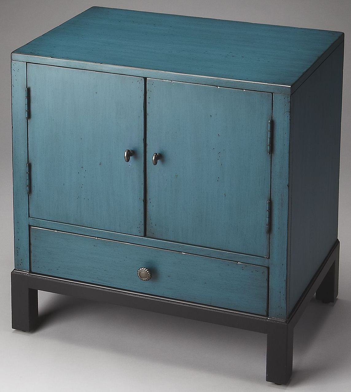 Courtland Artists Originals Distressed Blue Accent