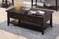 700968 Cappuccino Coffee Table from Coaster (700968 ...