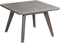 Daughter Cement and Natural Coffee Table from Zuo ...