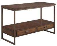 Ellery Rustic Brown Metal Sofa Table from Coaster (704309 ...