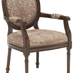 Animal Print Accent Chair Design Ppt Beige Brown From Coast To