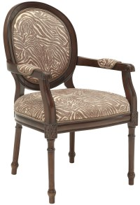 Beige/Brown Animal Print Accent Chair from Coast to Coast ...