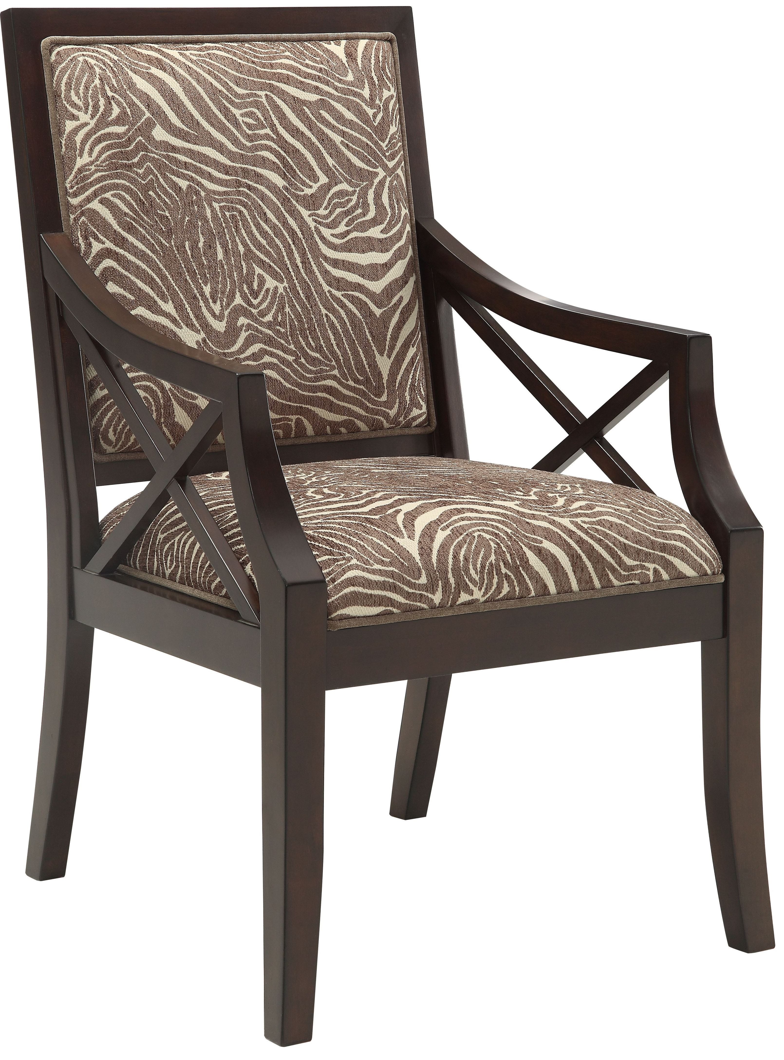 animal print accent chair cool chairs beige brown from coast to
