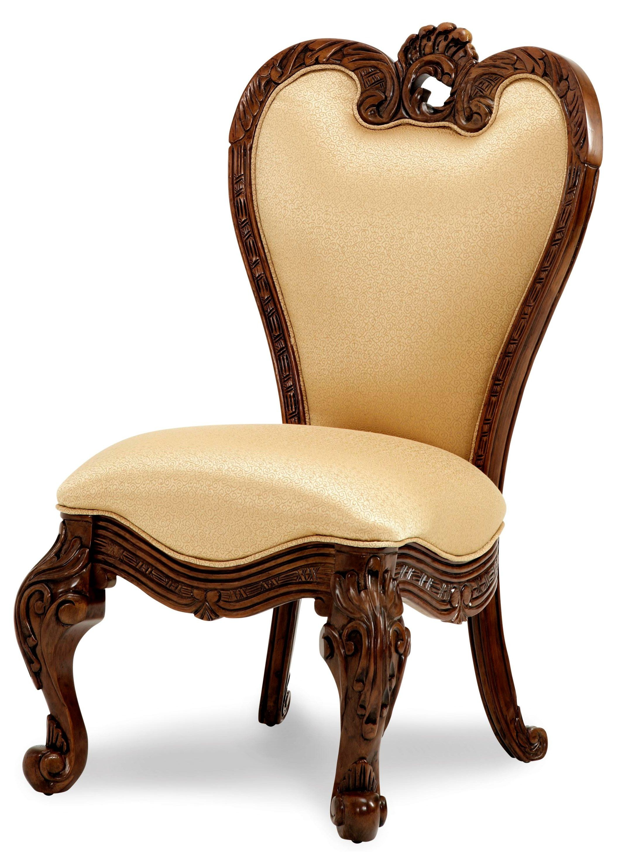 Palais Royale Vanity Chair from Aico 7104435  Coleman