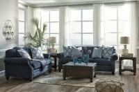 LaVernia Navy Living Room Set, 7130438, Ashley
