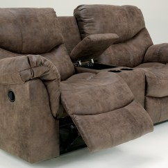 White Reclining Sofa And Loveseat L Shaped Sets Images Alzena Double Power With Console From ...