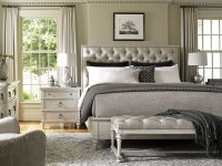 Oyster Bay Sag Harbor Tufted Upholstered Platform Bedroom ...