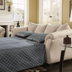 Ashley Furniture Darcy Sofa Reviews Fabric Cleaning Services In Pune Stone Full Sleeper From 7500036