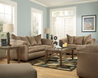 Darcy Mocha Living Room Set from Ashley (75002) | Coleman ...