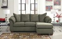 Darcy Sage Chaise Sectional from Ashley (7500318 ...