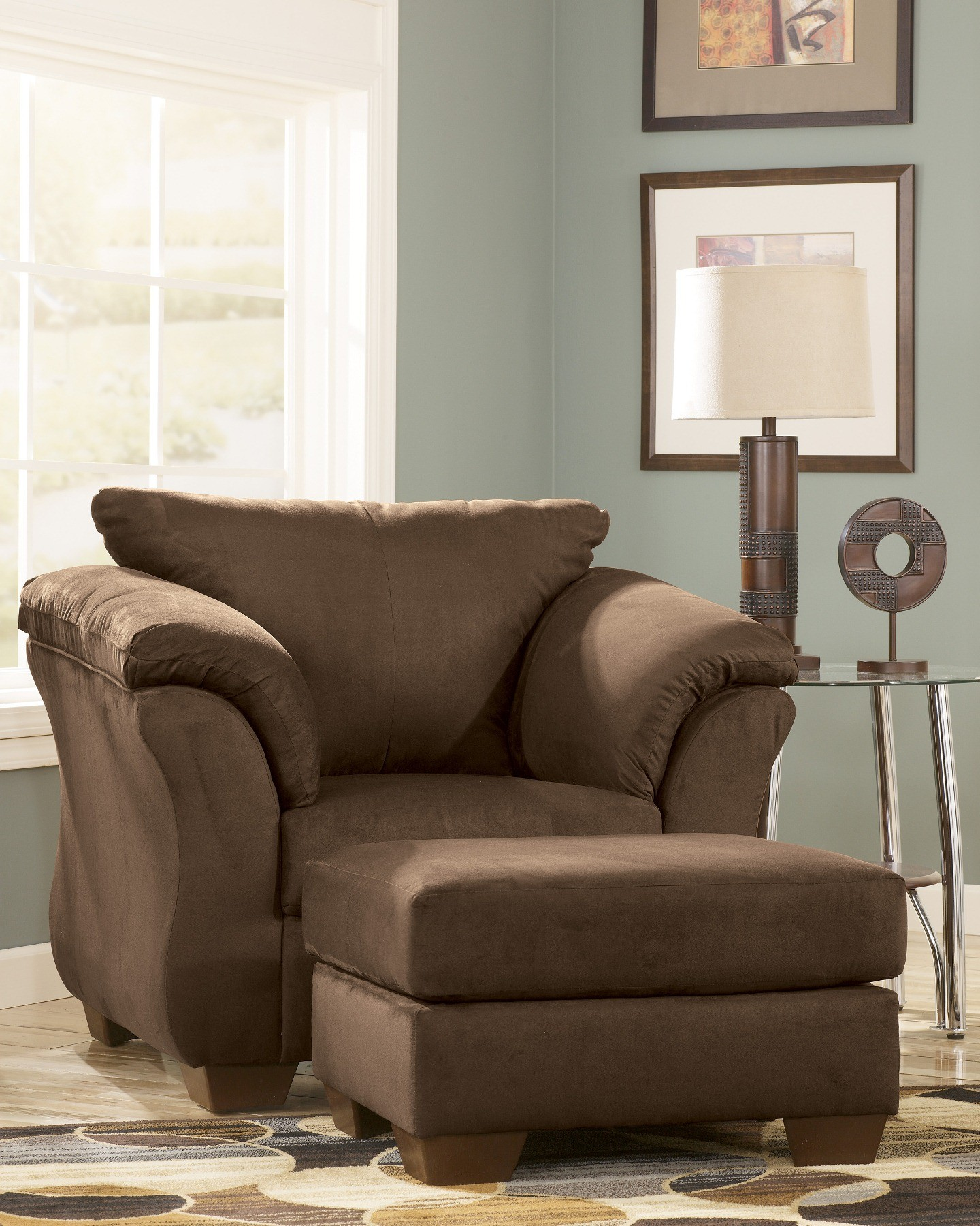 ashley darcy sleeper sofa review king sofas cafe living room set from (75004) | coleman ...
