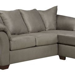 Darcy Sofa Chaise Ashley Furniture Lensar Reclining Cobblestone Sectional From 7500518