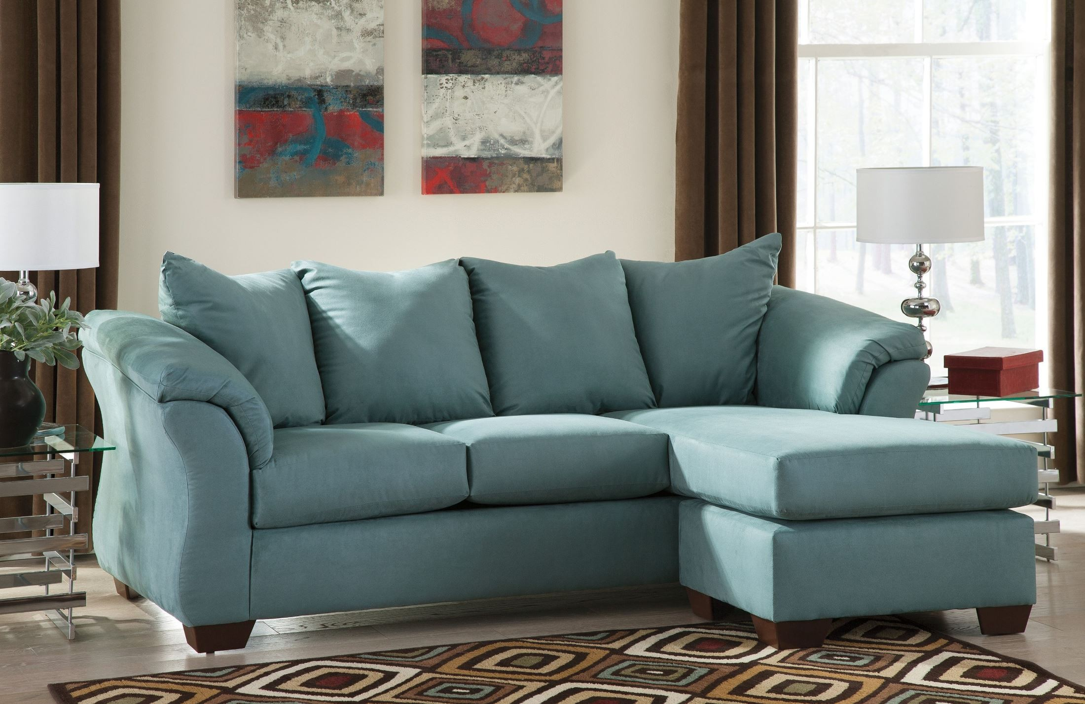 ashley furniture darcy sofa reviews new york city sky chaise from 7500618 coleman