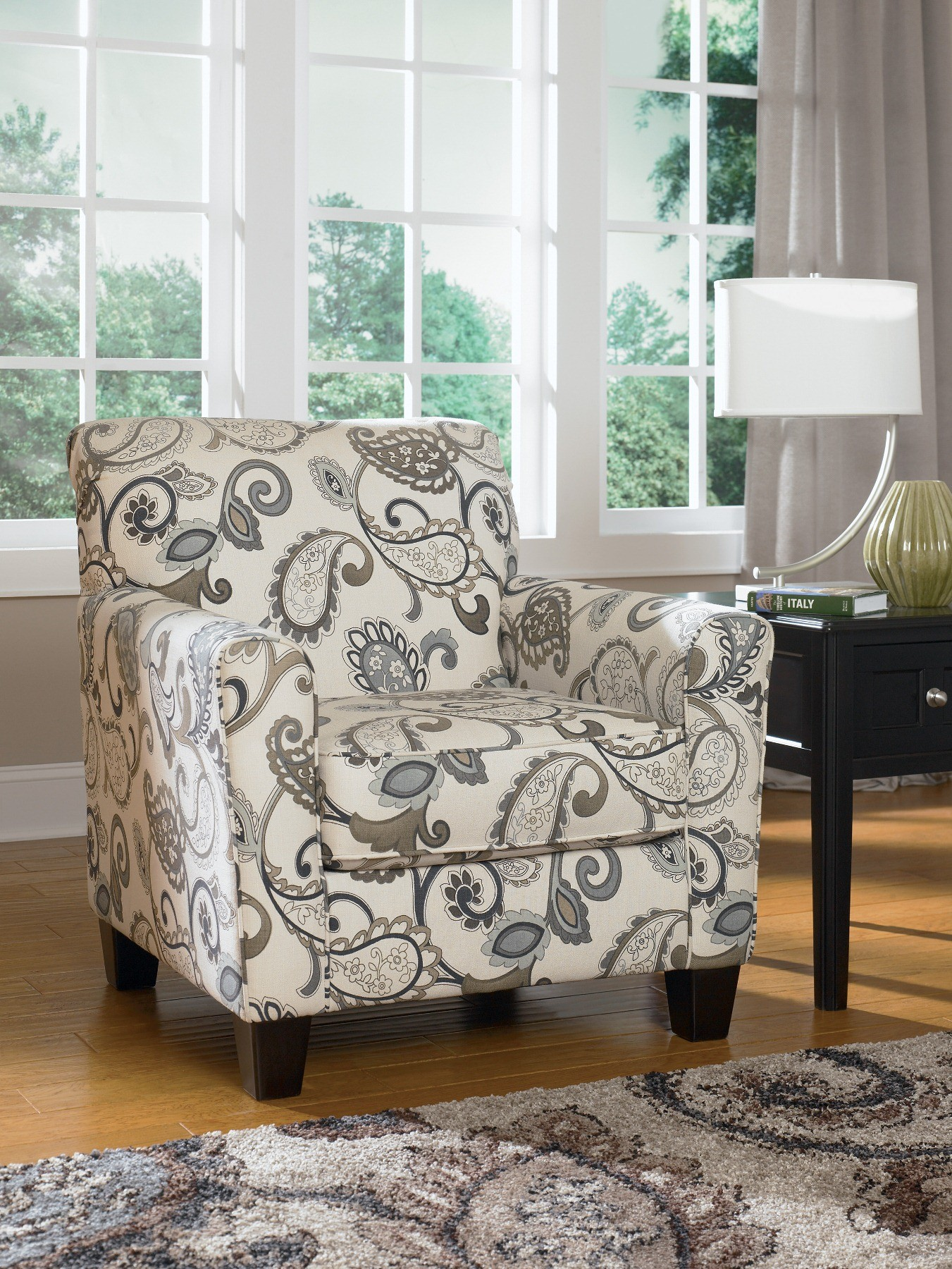 Ashley Furniture Accent Chair Yvette Steel Accent Chair From Ashley 7790021 Coleman