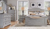 Stonebrook Antique Gray Panel Bedroom Set, 7820