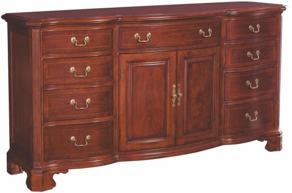 Cherry Grove Classic Antique Door Triple Dresser