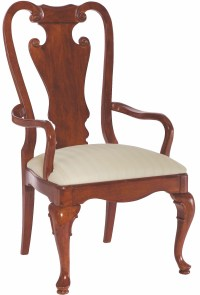 Cherry Grove Classic Antique Cherry Splat Back Arm Chair ...
