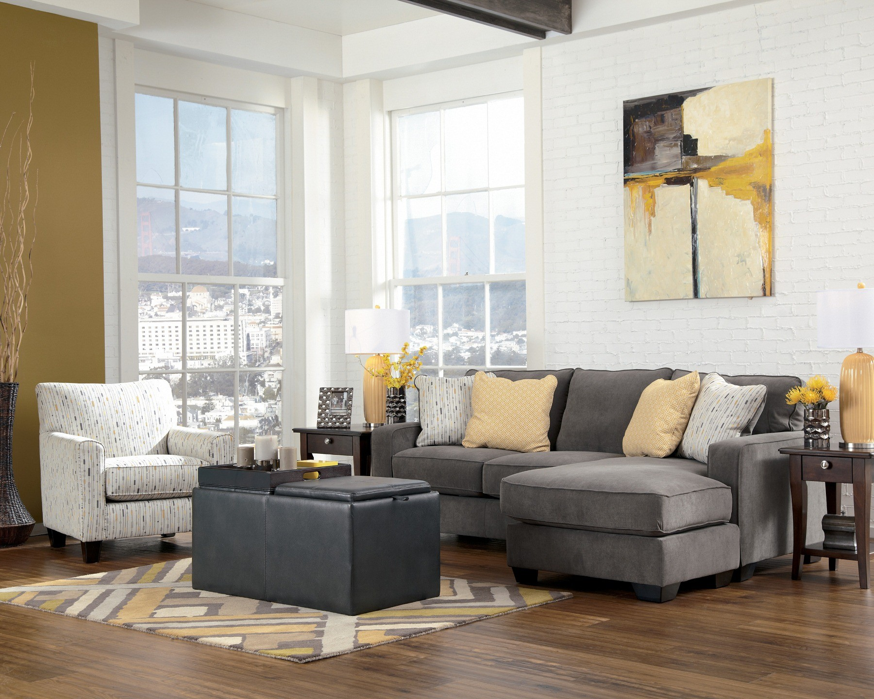 Hodan Marble Living Room Set from Ashley 79700  Coleman Furniture