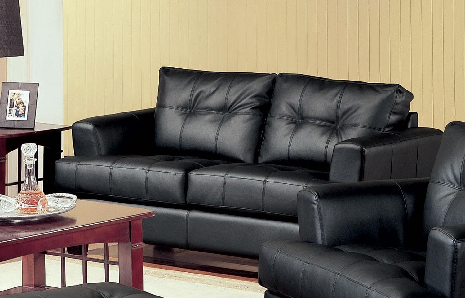 amazon sofa set 5 seater disney minnie mouse upholstered samuel black leather loveseat 501682 from coaster
