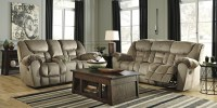 Jodoca Driftwood Reclining Living Room Set from Ashley ...