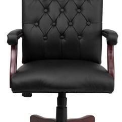 Swivel Chair Executive Reclining Arm Martha Washington Leather From