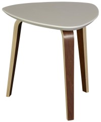 Tisdale Small Ivory End Table, 804-020, Casana