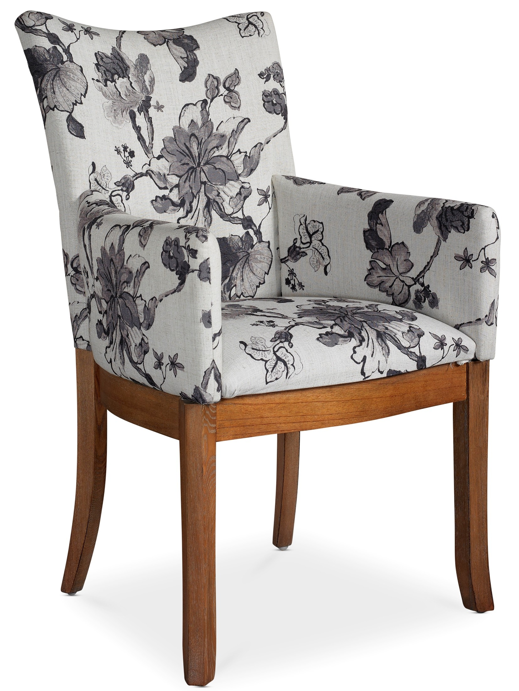 floral print accent chairs eames molded plastic side chair sophisticate arm set of 2 from somerton