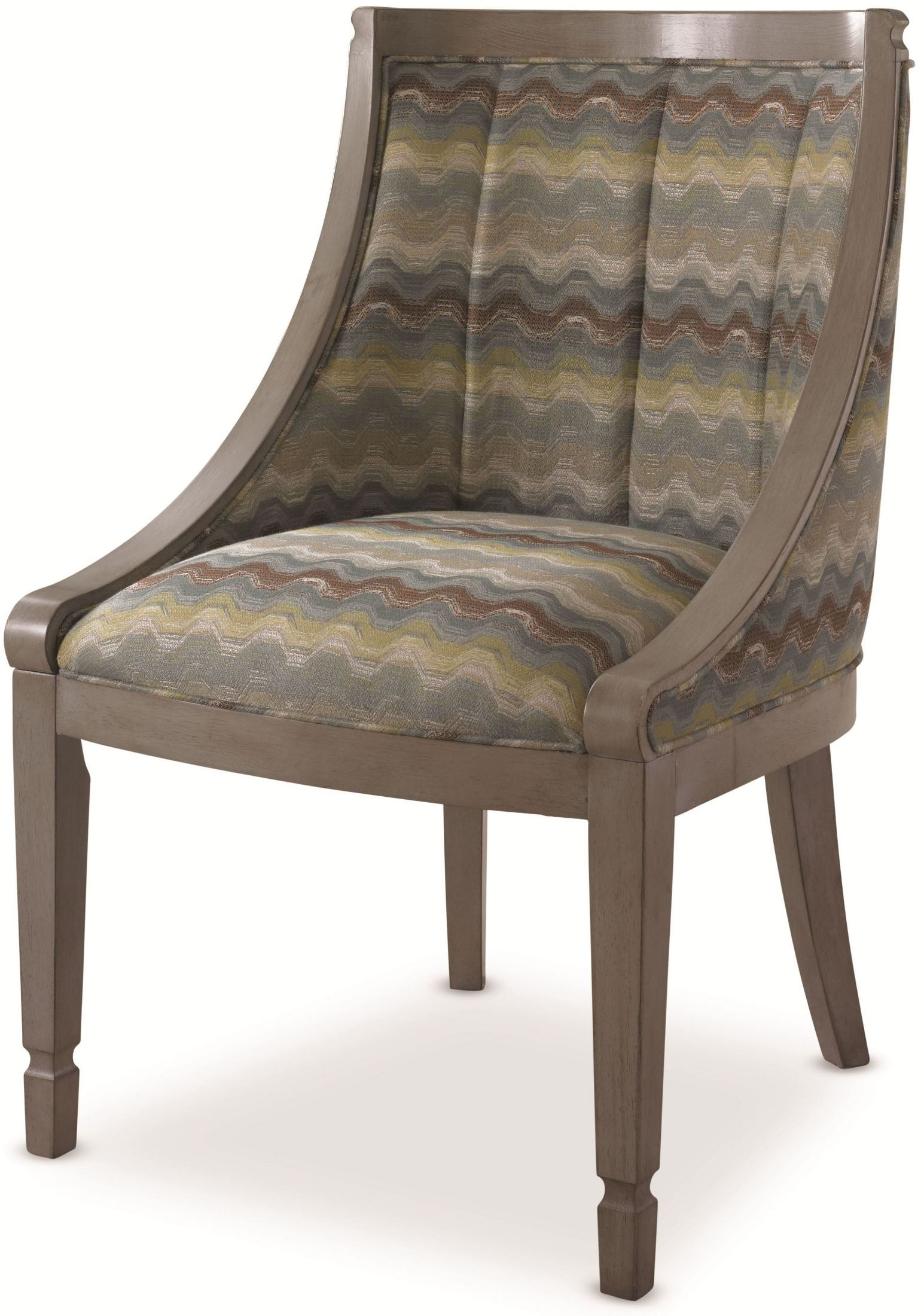 Grey Side Chair White Peony Mist Grey Flora Side Chair From Somerton