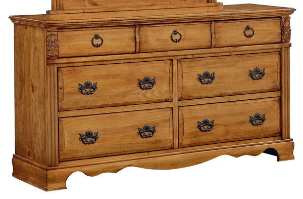 Georgetown Golden Honey Pine Dresser Standard 83009