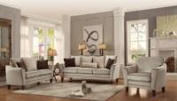 Ouray Cream Living Room Set, 2346013, Homelegance