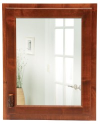 Hickory Inset Medicine Cabinet With Hinged Right from ...
