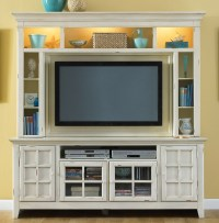 New Generation White Entertainment Center from Liberty ...