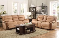 Wasola Brown Triple Reclining Living Room Set from ...