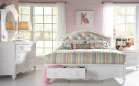 SweetHeart Youth Upholstered Storage Bedroom Set from ...