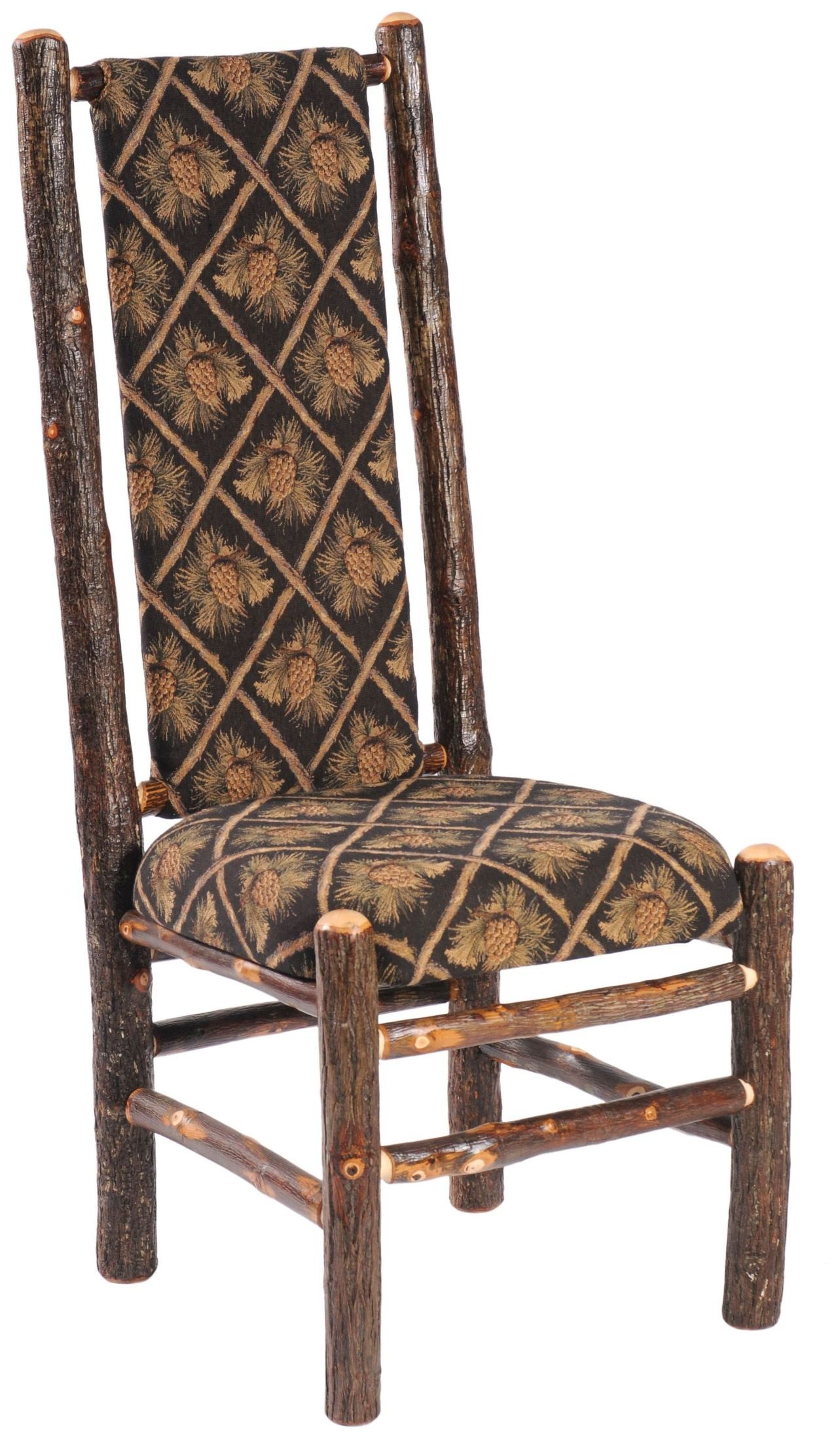 coleman lumbar quattro chair palecek dining chairs hickory standard fabric high back upholstered side