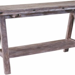 Horse Sofa Table Chester Bedford Avenue Sawhorse Console 8615 038 Broyhill
