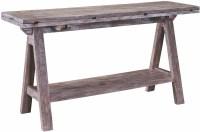 Bedford Avenue Sawhorse Console Table, 8615-038, Broyhill