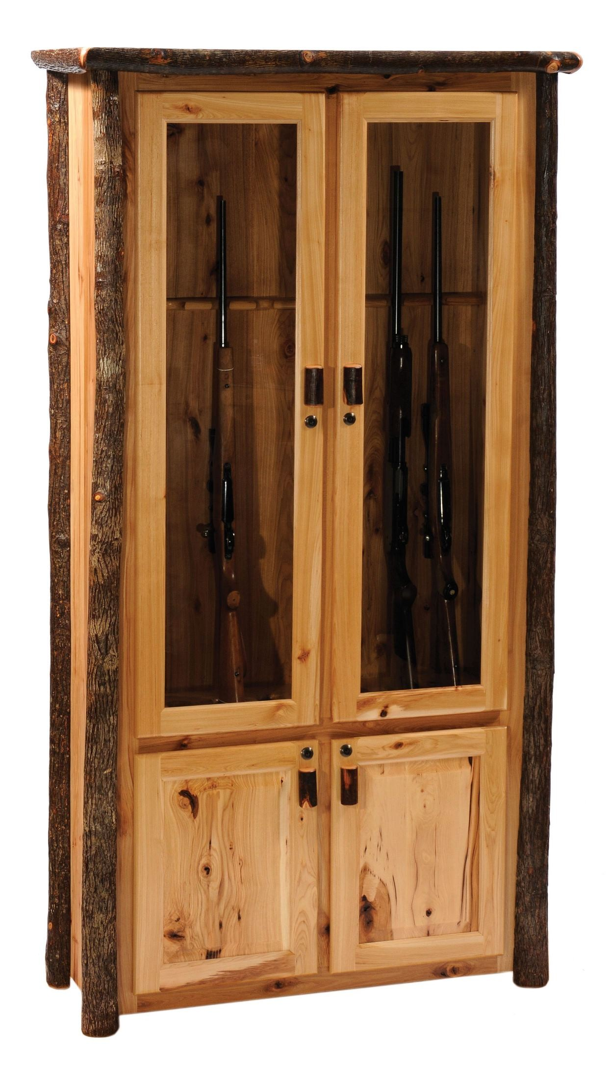 Hickory 8 Gun Cabinet from Fireside Lodge 86801H