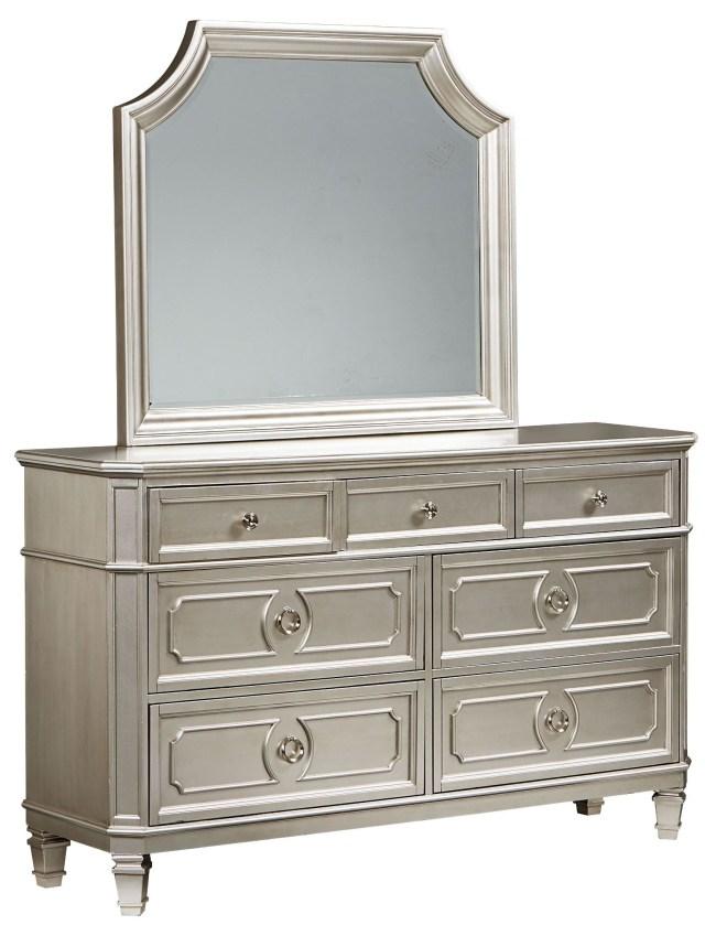 Windsor Silver Panel Bedroom Set from Standard Furniture