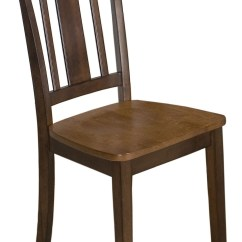 Espresso Dining Chair Metal Side Chairs Kura And Canyon Gold Set Of 2 From