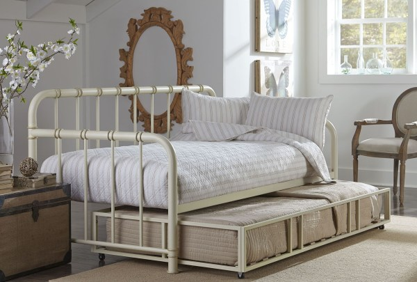 Tristen White Trundle Daybed 875-53-54 Standard Furniture