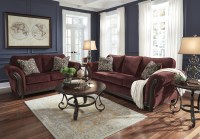 Chesterbrook Burgundy Living Room Set from Ashley (8810238 ...