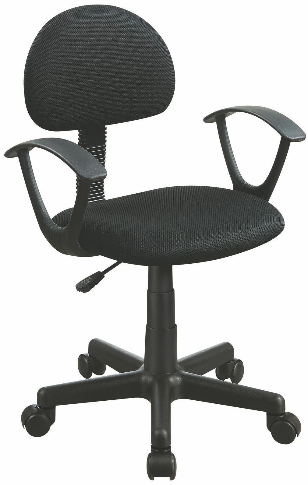Black Swivel Office Chair 881050 Coaster Furniture