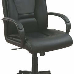 Desk Chair Next Sex Toy Black Vinyl Office From Coaster Coleman Furniture
