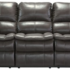 Grey Power Reclining Sofa Short Sectional Sofas Long Knight Gray Living Room Set From